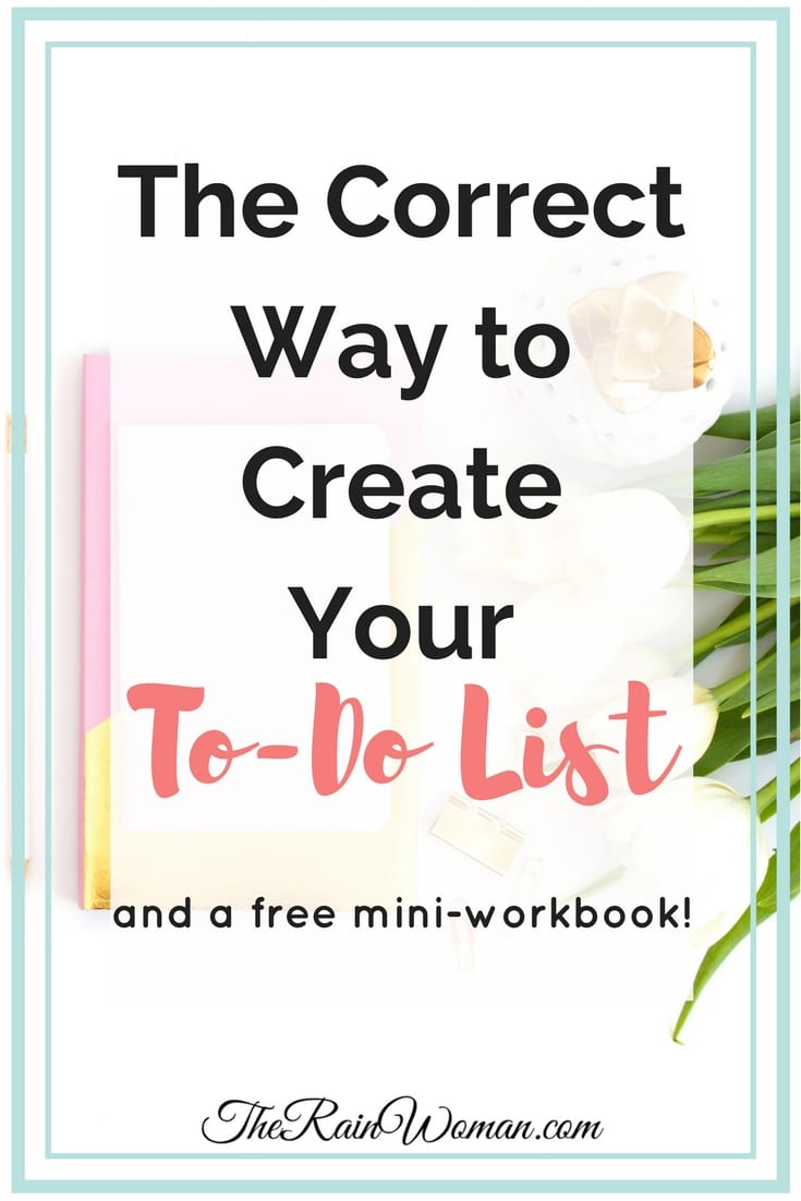 Do you know the best way to organize your to do list?